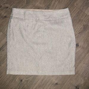 Limited Wool Tweed Skirt